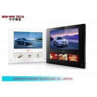 Four screens hd lcd stand alone digital signage for office building