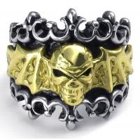 Best Tagor Jewelry Super Fashion 316L Stainless Steel Casting Rings Collection PXR017 wholesale