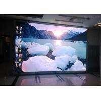 China P16 Indoor Full Color Led Display Advertising , Ultra Thin Led Screen Video Wall on sale