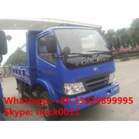 Best Forland 4 4*2 5tons small dump truck , cheapest price China brand 2016s new forland brand LHD/RHD dump tipper trucks wholesale