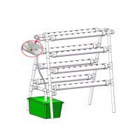 Best Home Grow Indoor Plant Hydroponic Grow System With 72 Holes Countryside Style wholesale