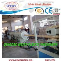 Best 50 - 160mm PVC Pipe Manufacturing Machine Squar / Round Pipe wholesale