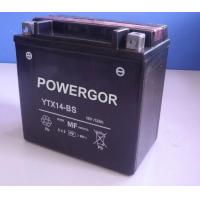China Maintenance Free Motorcycle Battery (YTX14-BS) on sale