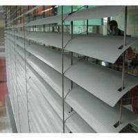 China External venetian blinds with 80mm width, made of aluminum on sale