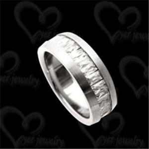 China Fashion titanium ring men's jewelry on sale