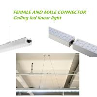 Epistar Chip Eco Friendly Suspended LED Linear Lighting 50000 Hours Lifespan