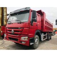 Best 30 Ton 6*4 Sinotruk Howo Used Dump Truck , Second Hand Tipper Truck For Construction wholesale