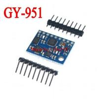 Buy cheap GY-951 AHRS. 9DOF ATMEGA328 ITG3205 ADXL345 HMC5883L Module 9-axis Inertial Navigation product