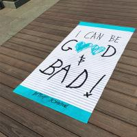 Best Funny Personalized Beach Towels / Adult Monogrammed Beach Towels For Men wholesale