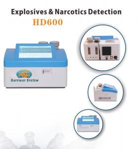 Best Lightweight Hand Held Bomb Detector Machine For Black Powder Identify HD600 wholesale