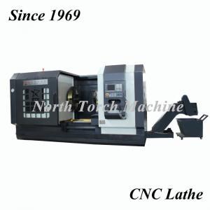 China CE 3T Workpiece Flange Horizontal Facing In Lathe Machine on sale