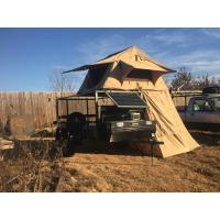 Best Water Resistant 4x4 Roof Top Tent Easy Operate With Side Awning CE Certificated wholesale
