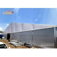 Best Industrial Storage 30m Clear Span Tent With Double PVC Layer And Insulated Sandwich Walls Around wholesale