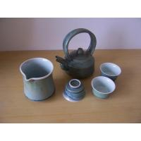 Best Fine China Tea Pot Metal Art Glazing wholesale