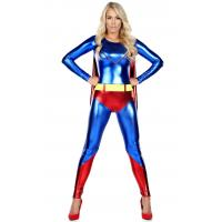 Cheap Halloween Captain America Spider-Man.superman Costume Adult Cosplay ,SEXY adult for sale