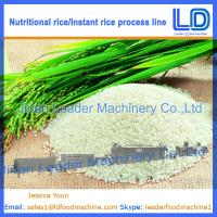 Best Nutritional Rice Food making machines wholesale