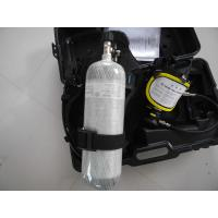 China 6.8L Air Breathing Apparatus for fire fighting equipment on sale