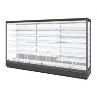 China Energy Saving Open Display Fridge , Open Air Refrigerated Display Cases on sale