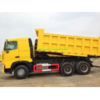 China 6x4 A7 Sinotruk 10 Wheel Dump Truck 20m3 Front Lifting U Type Conatiner For 40-50t Load on sale