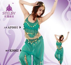 shakira belly dance csotume,tribal belly dance costume
