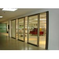 Best Office Folding Glass Block Partition Walls 680 / 1230 Width 2000 / 4500 Height wholesale