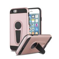 Anti - Fingerprint Slim Kickstand Mobile Phone Cover Cases For IPhone 6 Plus
