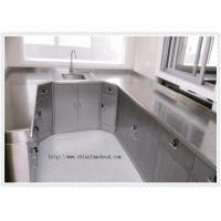 Best Stainless Steel Laboratory Wall Bench For Cleanroom Resist Strong Acid And Alkali wholesale
