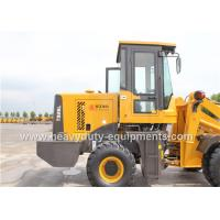 Best T926L Small Wheel Loader With Air Condition Quick Hitch And Attachments wholesale