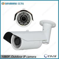 Best Plug and Play 1080P IP Bullet Camera 30m IR Night Vision Motion Detection wholesale