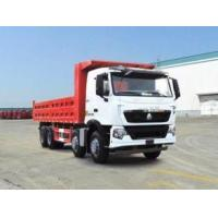 Best 336 hp 8x4 heavy duty dump truck front lift HW76 cab , Howo tipper truck wholesale