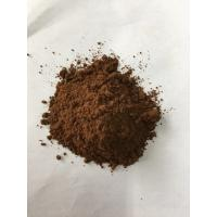 Best Dark Brown Natural Cocoa Powder / Alkalized Cocoa Powder PH Value 6.2-7.6 wholesale