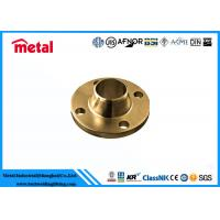 Best Class 900 # Copper Flange Fittings , Condensers Plates Weld Neck Flanges wholesale