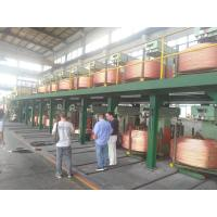 Best Copper Rod 6mm-60mm Wire And Cable Machinery  , Upward Casting Machine wholesale