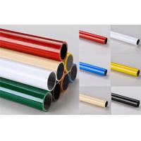 Best Multi color  ESD Black  Lean Pipe PE Coated 0.8MM / 1.0MM / 1.2MM Thickness Pipe wholesale