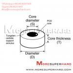 Best Tungsten Carbide Supported Diamond Die Blanks Alisa@moresuperhard.com wholesale