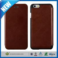 Best Vintage Wallet Flip Cell Phone Leather Cases With Credit Card Slots For Iphone 6 wholesale