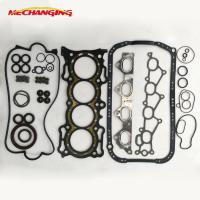 Best FOR HONDA ACCORD IV Aerodeck 2.2 16V F22A1 F22A4 Automobile Spare Parts Engine Parts GASKET KIT A Set Engine Gasket wholesale