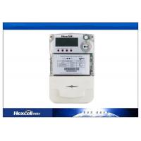 PC Material Single Phase Two Wire Static Energy Meter LCD transparent