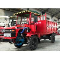 China Electronic Starter All Terrain Farm Dump Truck 4 Ton Load Oil Brake Type on sale