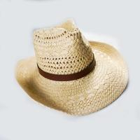 China 2017 New Style Handmade fashion paper straw hat women hollow out beach summer wide brim cowboy hat for adults on sale