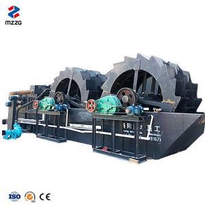 China Natural Ore Washing Machine , Sand Washing Unit 0-10mm Feeding Size AC Motor on sale