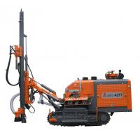 Best 14.5Mpa Dth Drilling Equipment25m Hole Depth , ZGYX - 421T Top Hammer Drill Rig wholesale