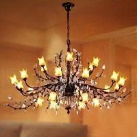 Best Crystal Lighting Chandelier with Hand-painted Glass wholesale