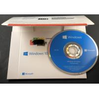 Buy cheap Genuine Microsoft Win10 home 32bit 64bit OEM package coa sticker DVD windows 10 from wholesalers