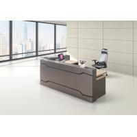 Buy cheap Knock Down Modern Front Reception Counter Desk Customized Color And Size from wholesalers