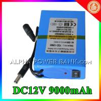 Best rechargeable battery pack Lithium battery packs rechargeable 12v dc battery pack Lithium b wholesale