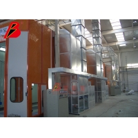 China Heavy Equipment Truck 49KW Painting Spray Booth on sale