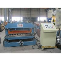 1219mm Exhibition Center Roof TileRoll Forming Machine 0.4mm - 0.6mm