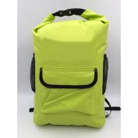 Best 20L Yellow 500D PVC Outdoor Products Waterproof Backpack OEM / ODM Available wholesale