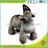 Best Kids Coin Operated Walking Animal Bike Mall Animal Rides Motorized Child Cover wholesale